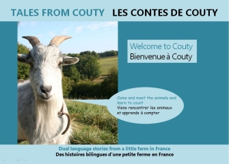 Learn French with Tales from Couty, dual-language children's books
